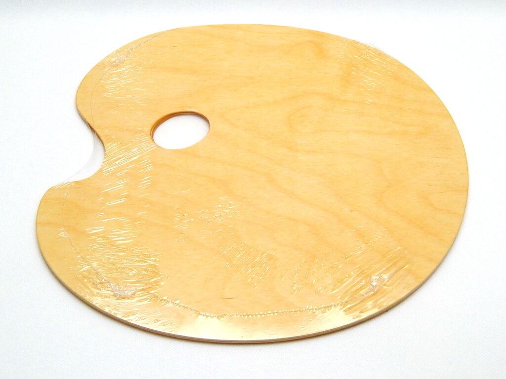 Paletka V/A  ateliérová kulatá