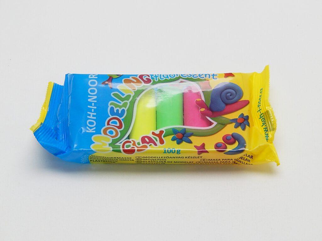 Plastelína 1315/ 5 barev fluorescenční