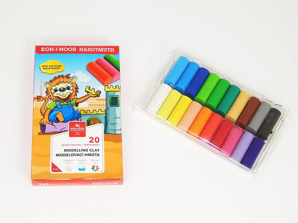 Plastelína 1315/20 barev