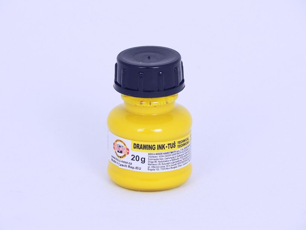 Tuš 1417 žlutá