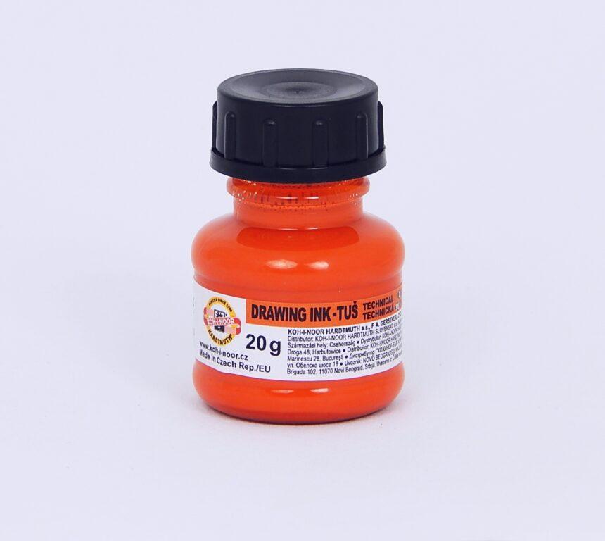 Tuš 1417 oranžová