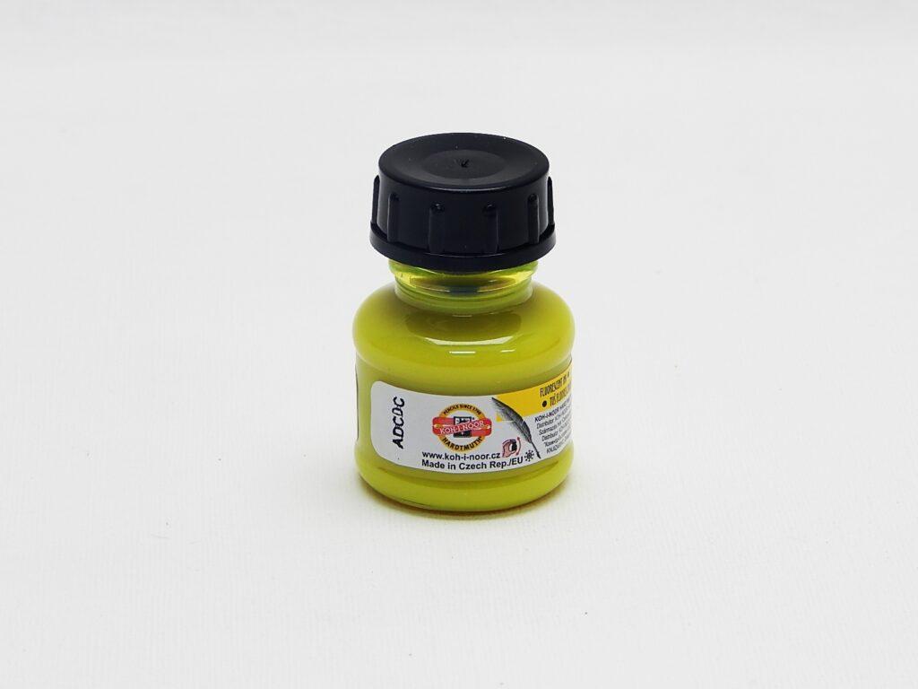 tuš barevná 20g fluorescenční žlutá