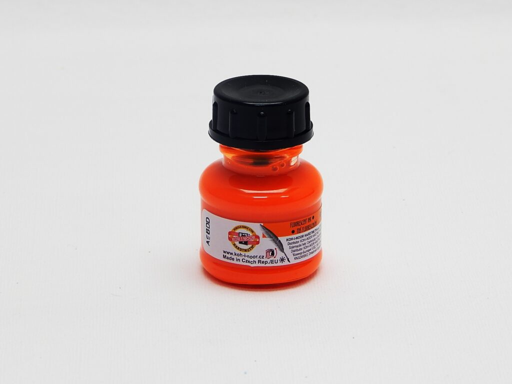 tuš barevná 20g fluorescenční oranžová