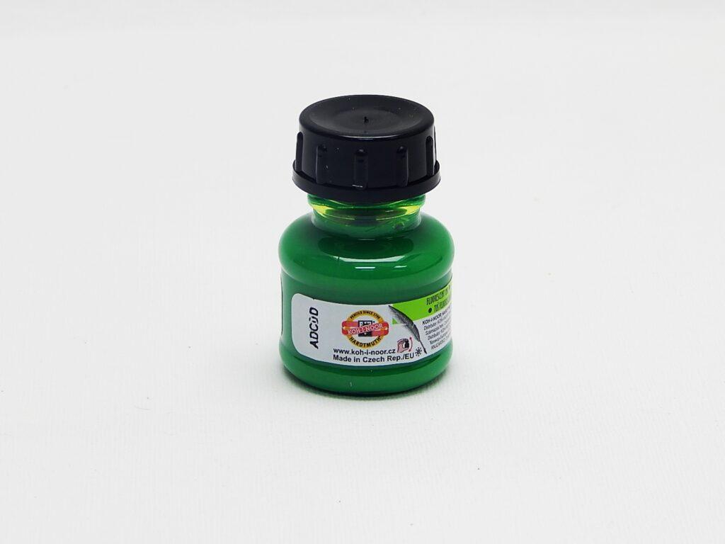 tuš barevná 20g fluorescenční zelená