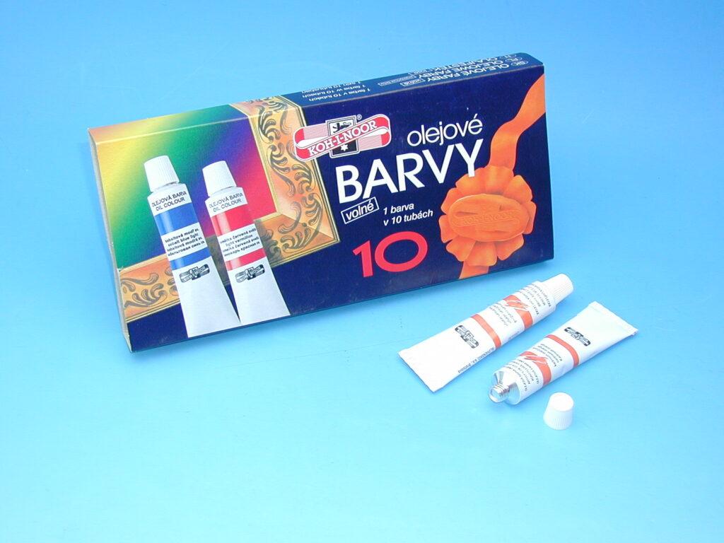 Barva 161523 16ml olej.kadmium oranž