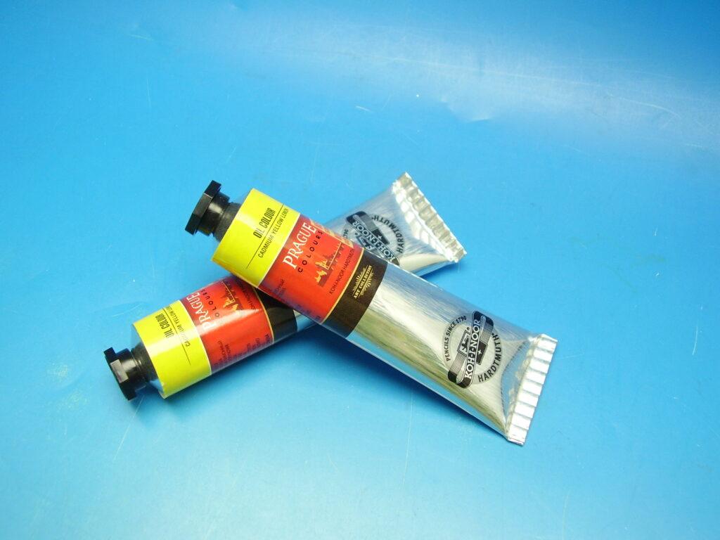Barva 1617 / 201 40ml olej. žluť kadmiová citronová