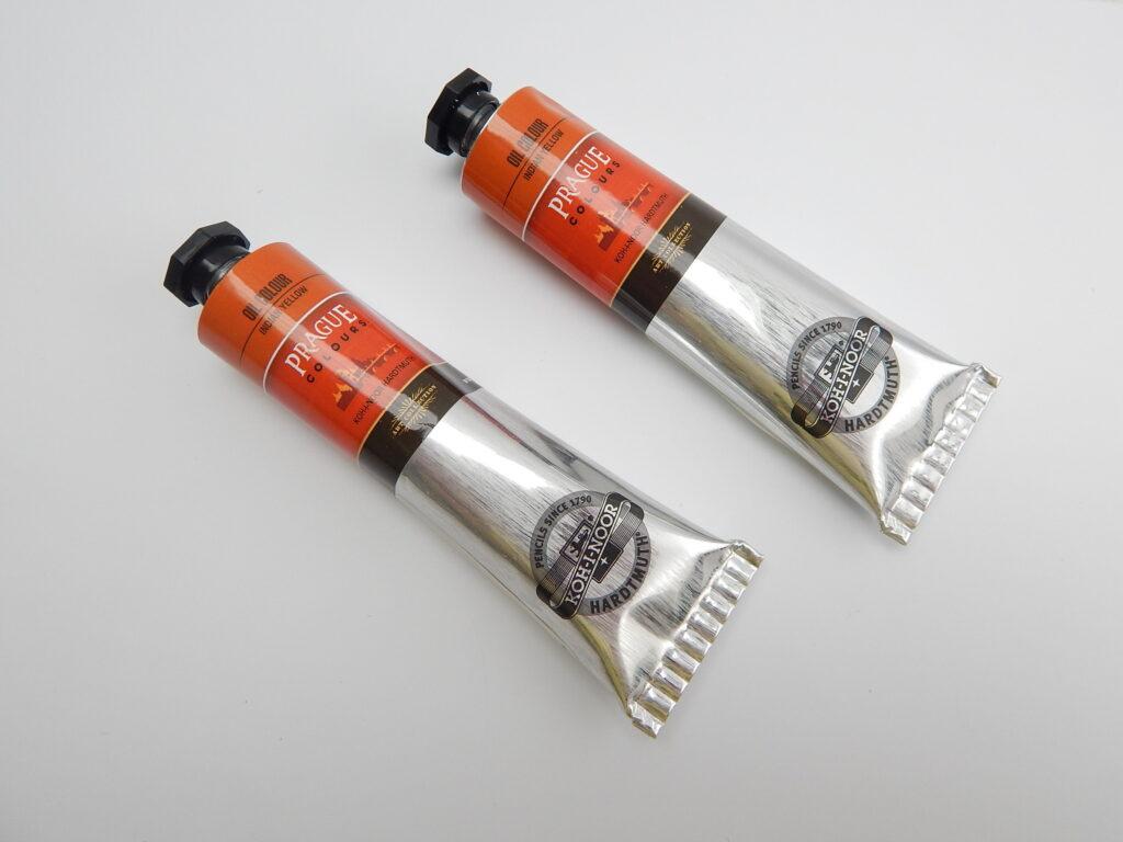 Barva 1617 / 270 40ml olej. žluť indická