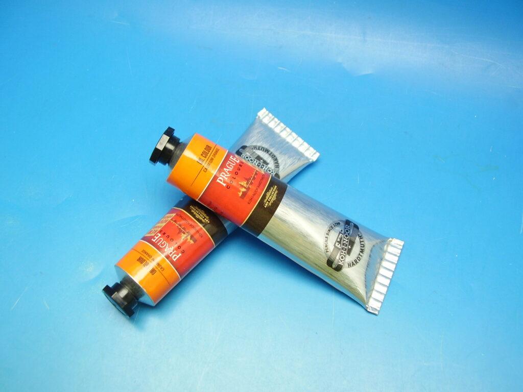 Barva 1617 / 281 40ml olej. oranž kadmiová