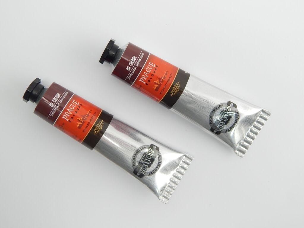 Barva 1617 / 290 40ml olej.hněď transparentní indická