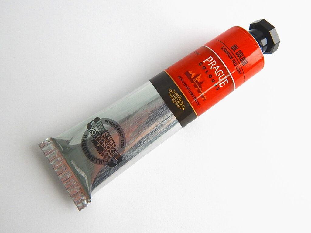 Barva 1617 / 300 40ml olej. červeň kadmiová světlá