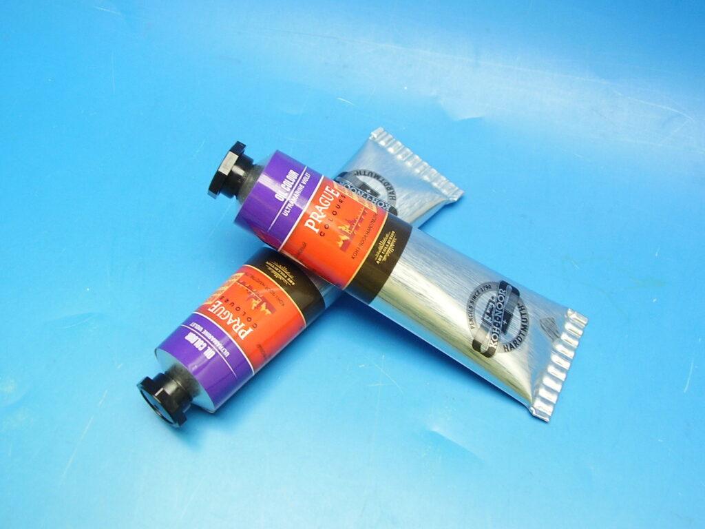 Barva 1617 / 371 40ml olej. fialová ultramarinová