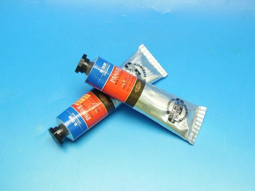 Barva 1617 / 401 40ml olej. modř blankytná