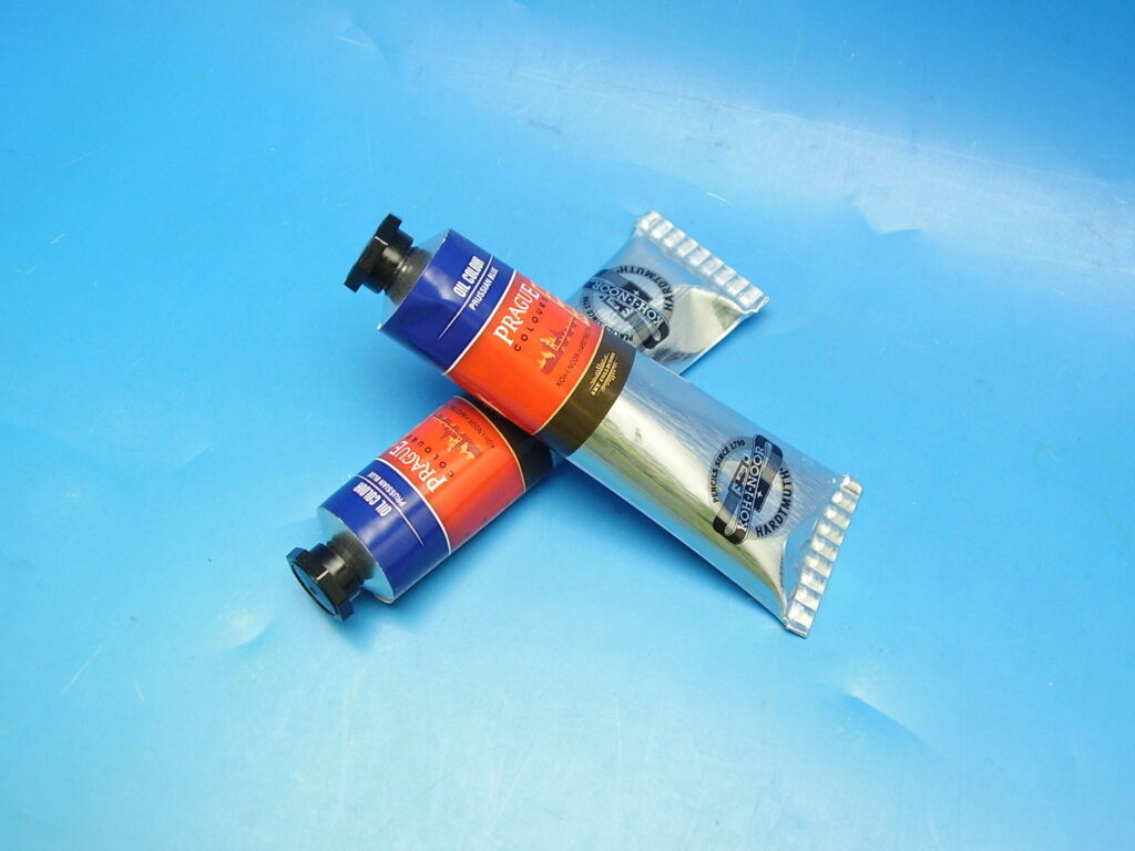 Barva 1617 / 441 40ml olej.modř pruská