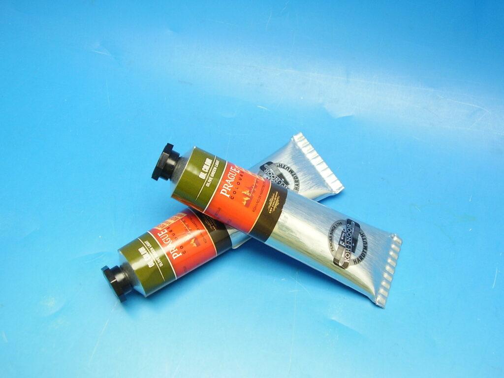 Barva 1617 / 503 40ml olej. zeleň olivová světlá