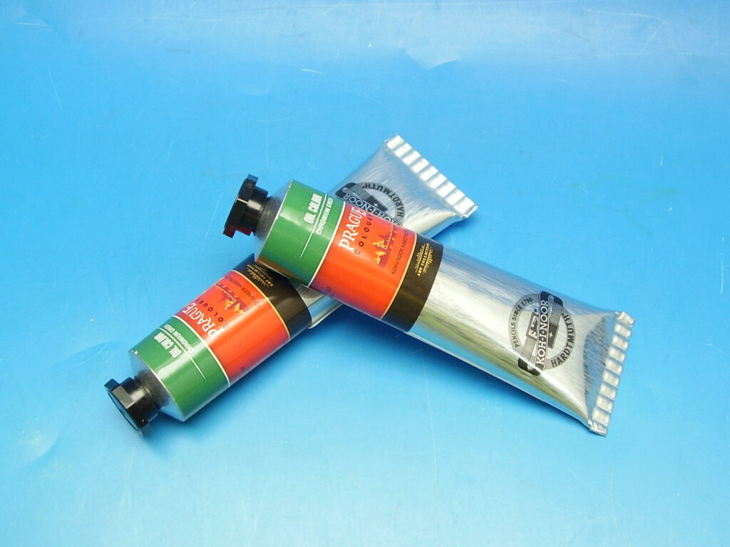 Barva 1617 / 521 40ml olej. zeleň chromová