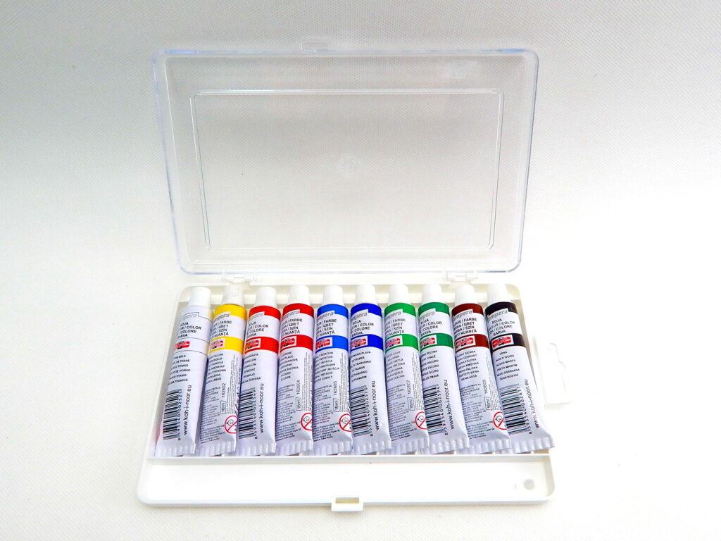 Barvy 162503/10 temperové 16ml
