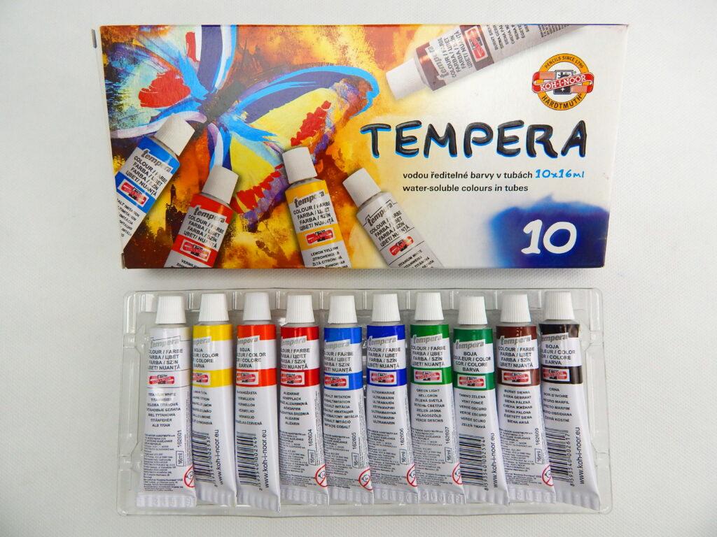 Barvy 162548/10 MOTÝL temperové
