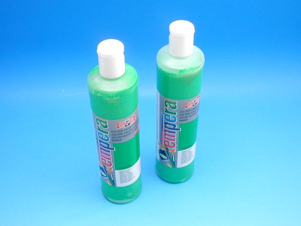 Barva 162580 / 1500 zeleň sv.500ml temperová