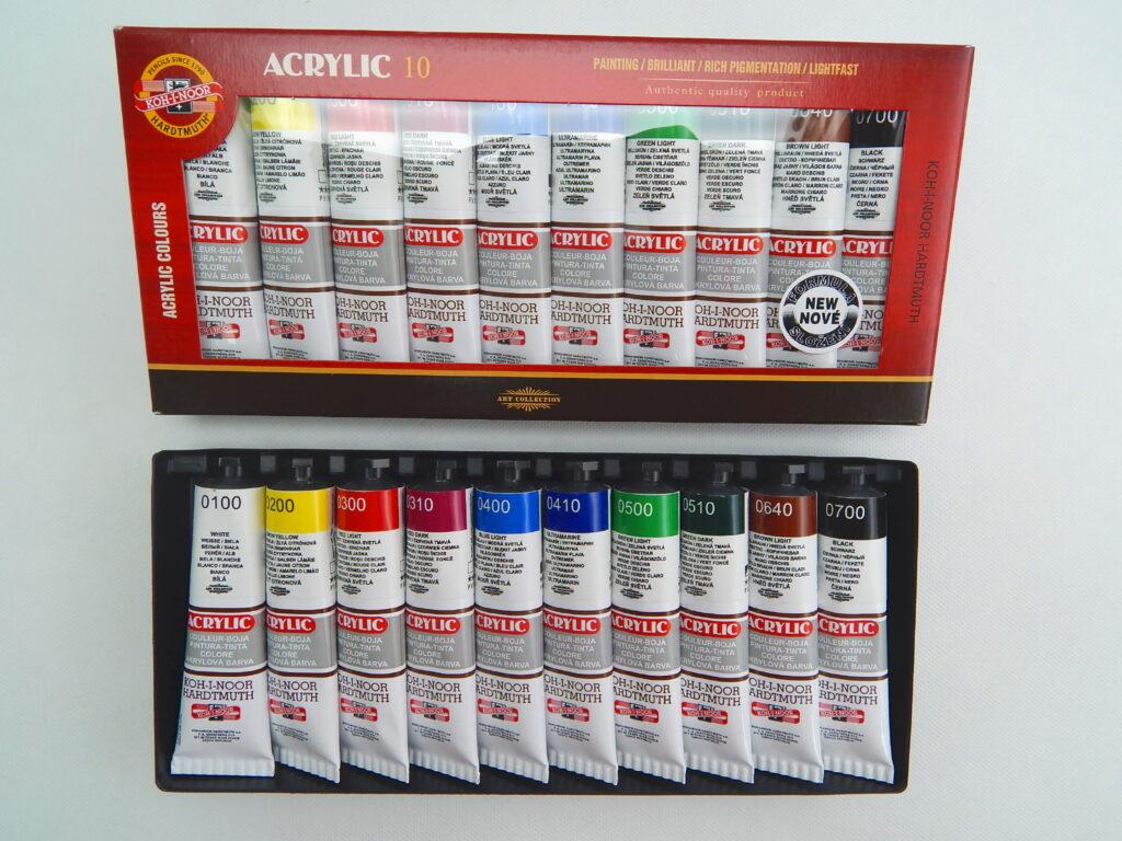 Souprava barvy 162704/10 akrylové 40ml
