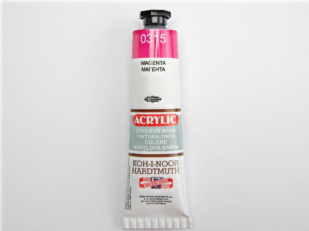 Barva 162709 / 0315 magenta akrylová 40ml