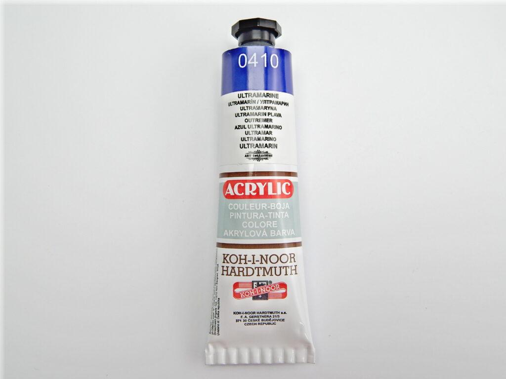 Barva 162717 / 0410 ultramarín akrylová 40