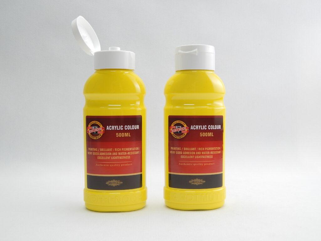 Barva akrylová 500ml  primární žluť 1627/0205