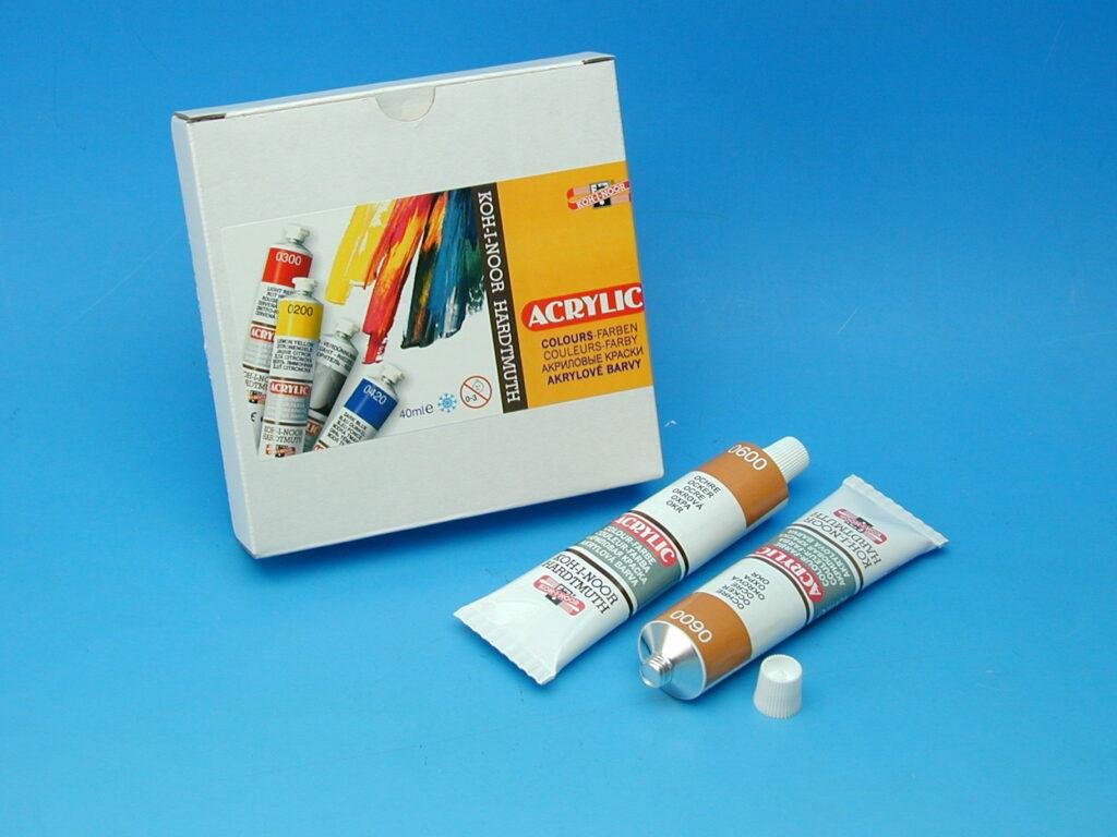 Barva 162721 / 0600 okrová akrylová 40ml
