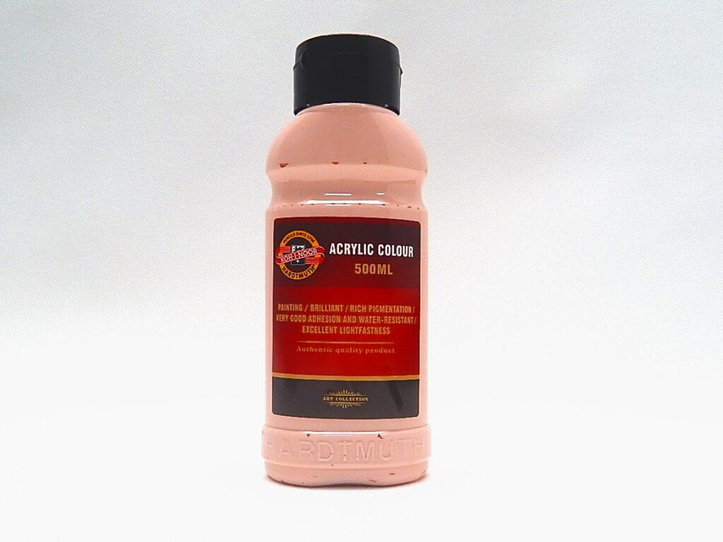 Barva akrylová 500ml růžová 1627/0240