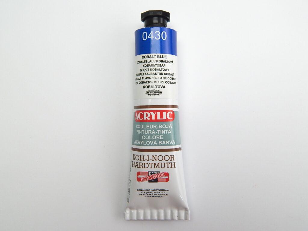 Barva 162732 / 0430 modrá akrylová 40ml