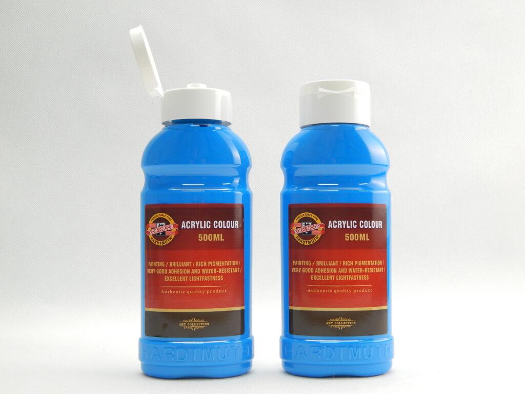 Barva akrylová 500ml cyan 1627/0405