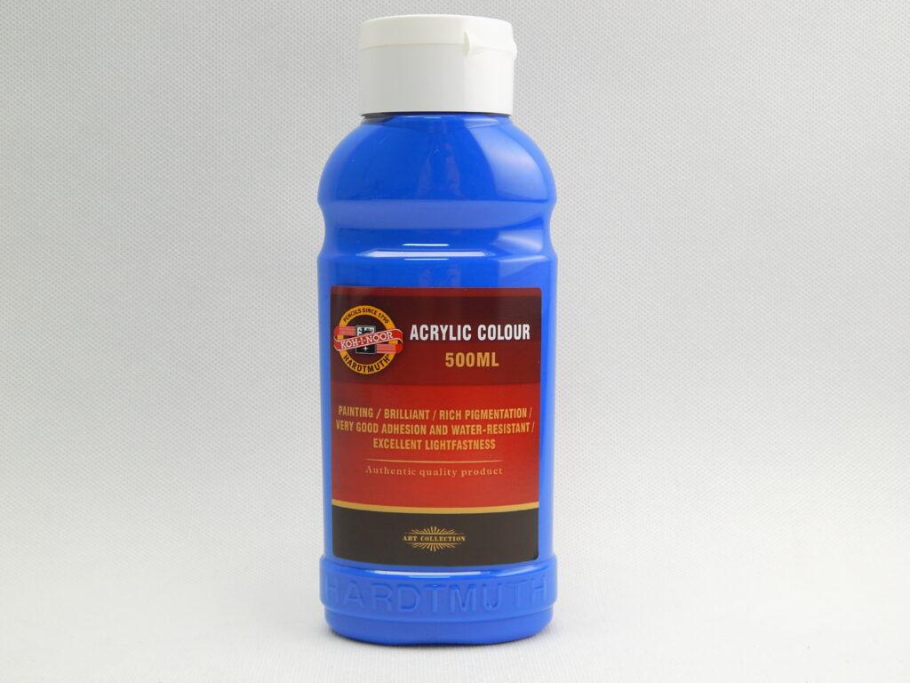 Barva akrylová 500ml kobalt 1627/0430