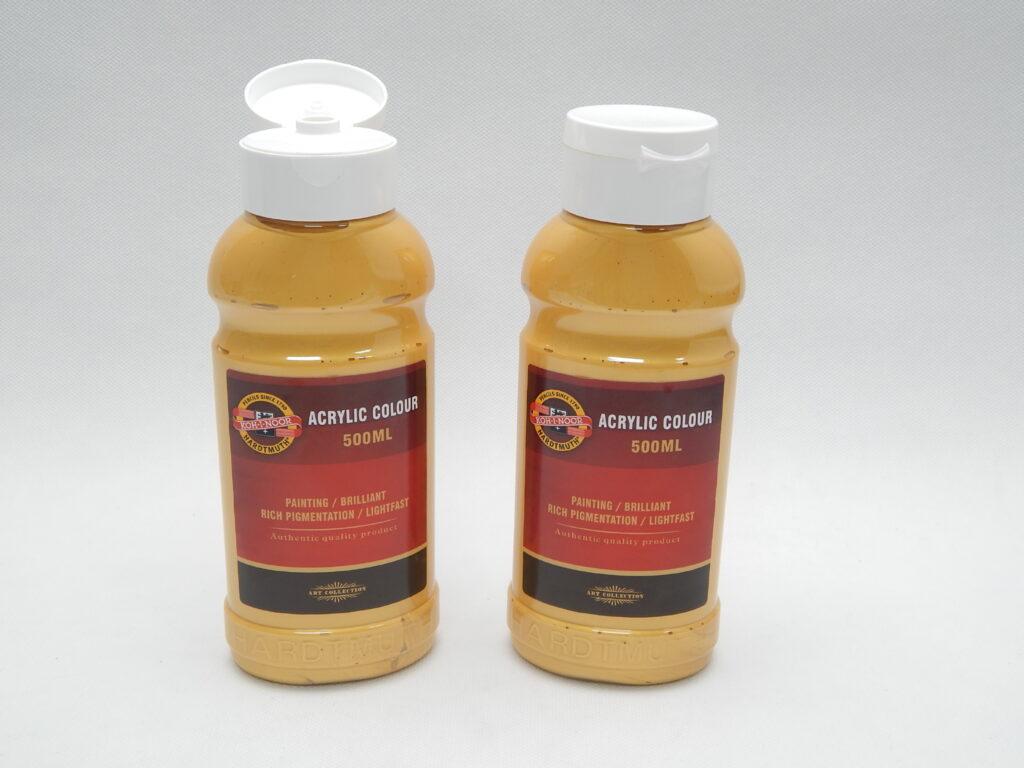 Barva akrylová 500ml  zlatá 1627/0830