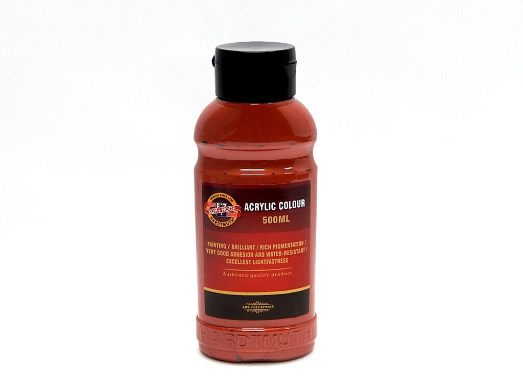 Barva akrylová 500ml měděná 1627/0850