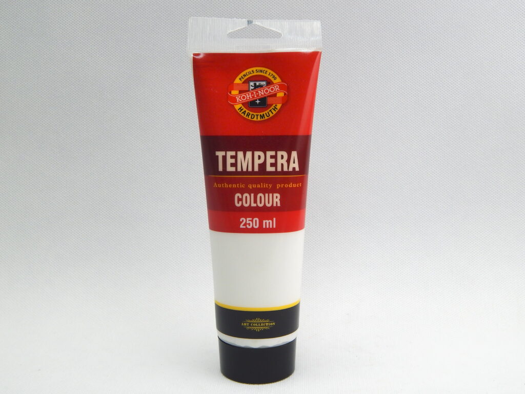 Barva 162793 / 1100 běloba titan.250ml temperová