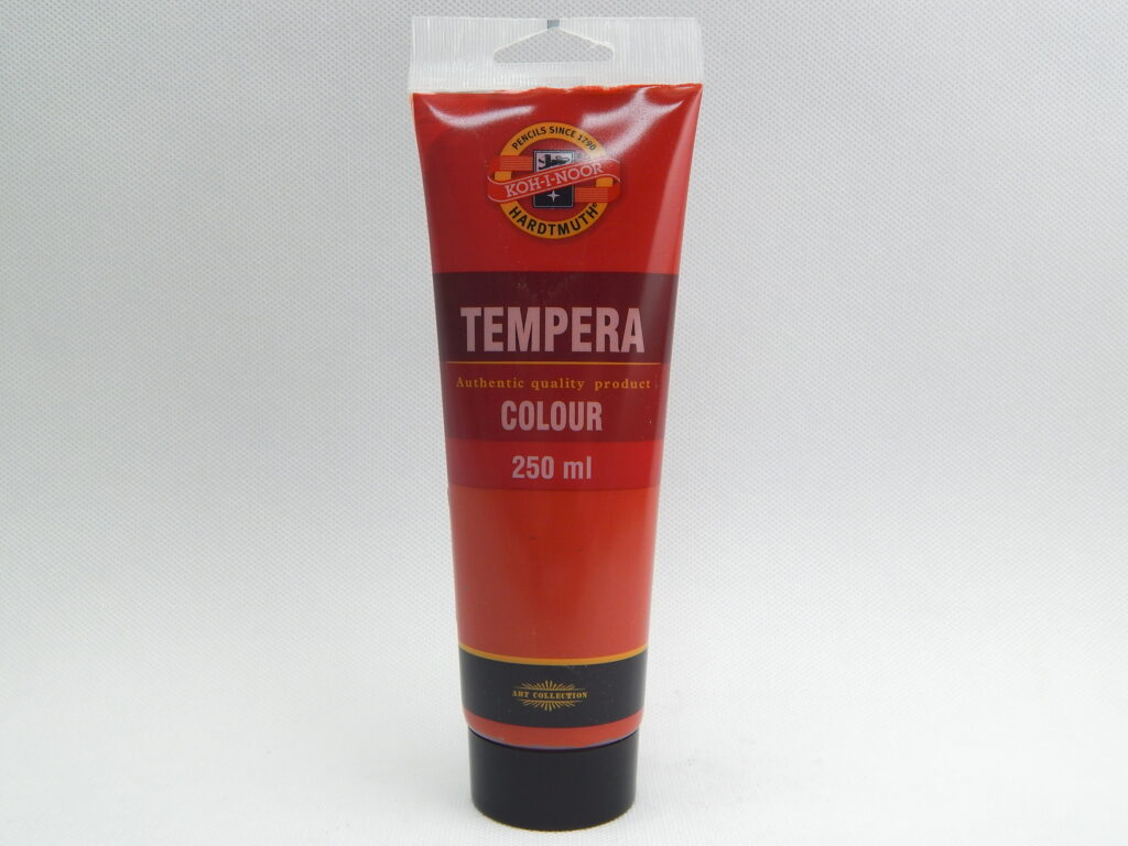 Barva 162800 / 1310 červená sv.250ml temperová