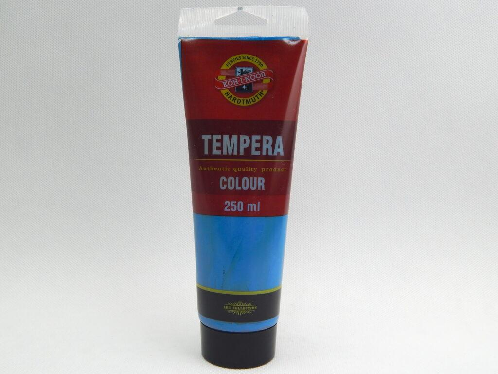 Barva 162804 / 1400 coel. modř 250ml temperová