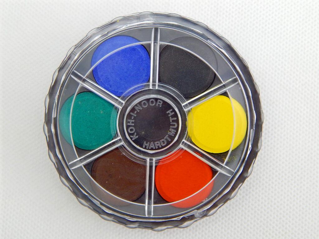 Barvy 171501/ 6  vodové kulaté