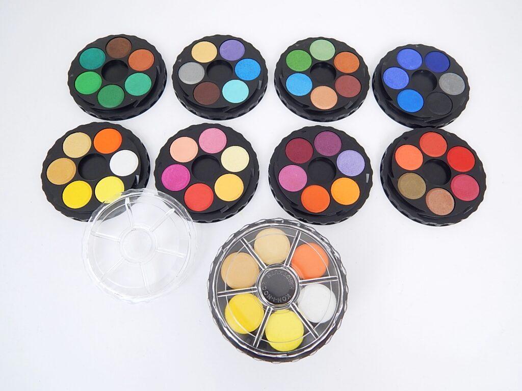 Barvy 171507/48  vodové kulaté