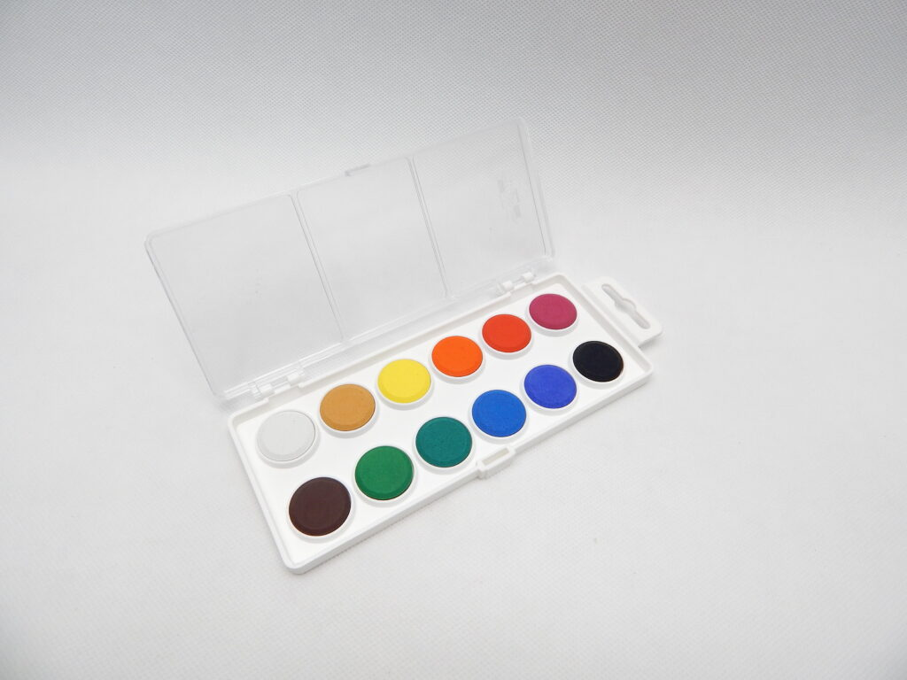 Barvy 171510/12  vodové pr.22,5mm