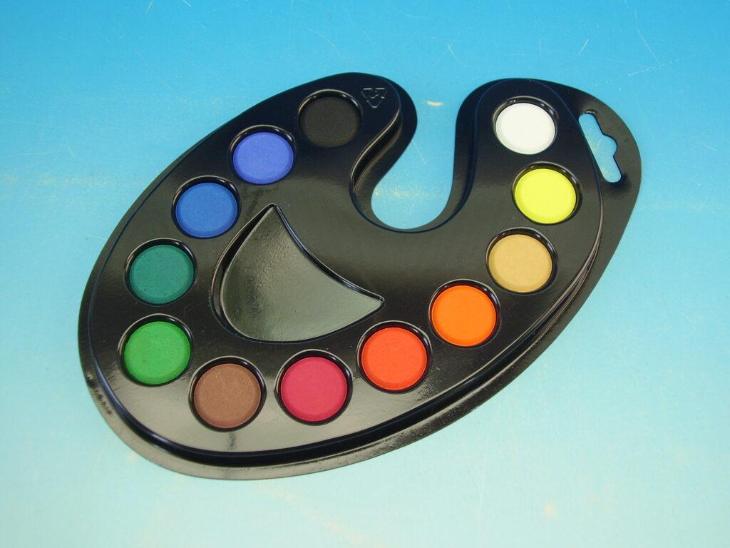 Barvy 171526 vodové paleta