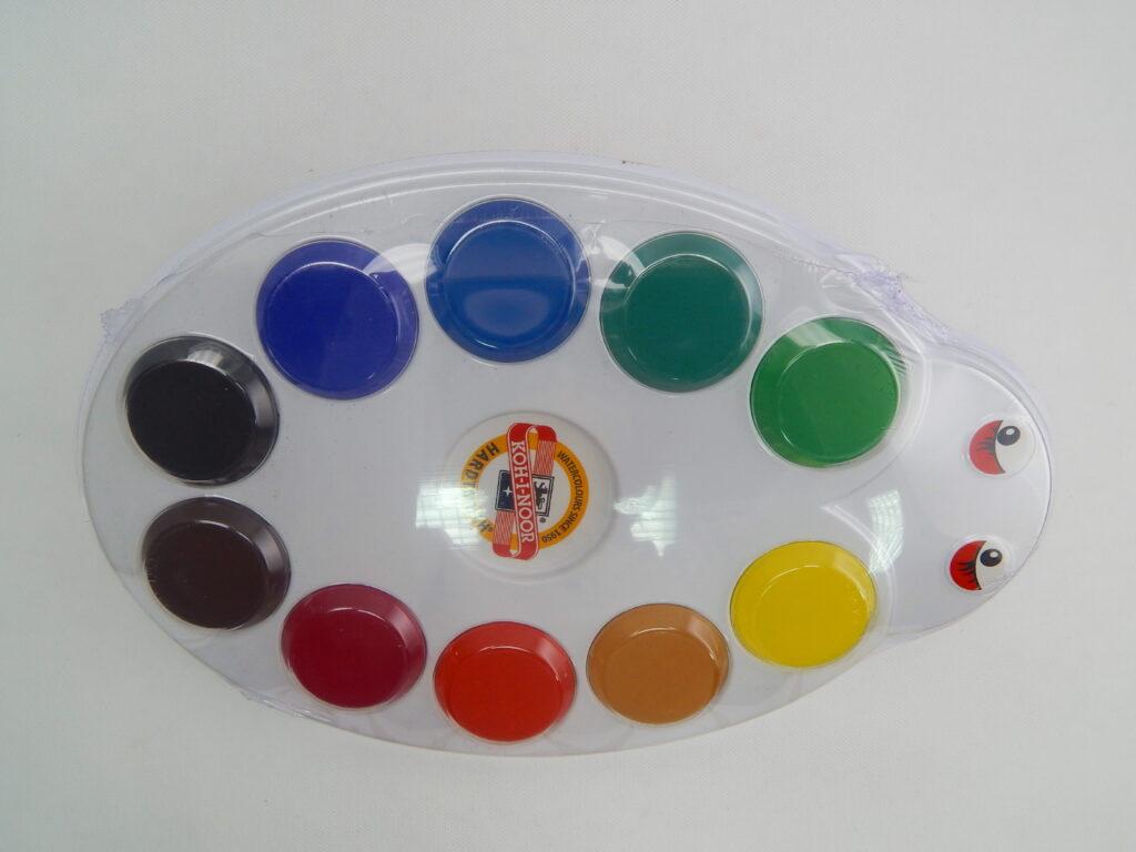 Barvy 1727/10 vodové MAXI  beruška