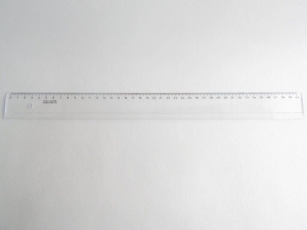 Pravítko 742700 40 cm čiré