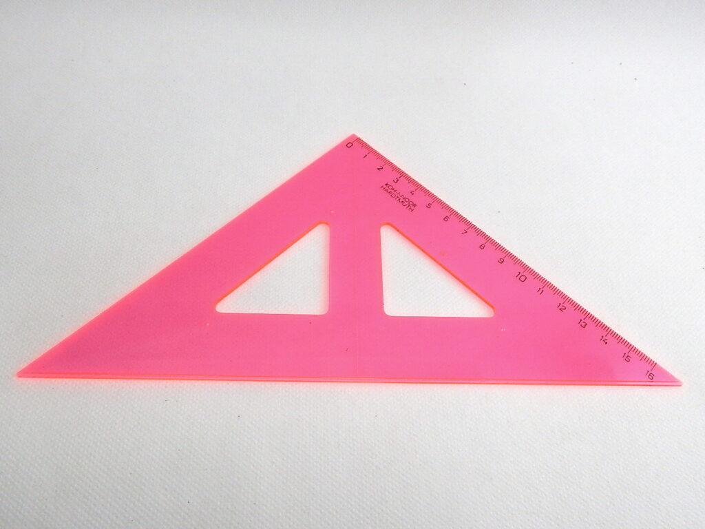 Trojúhelník 744153 RůŽ 45/177 bar.s kol.