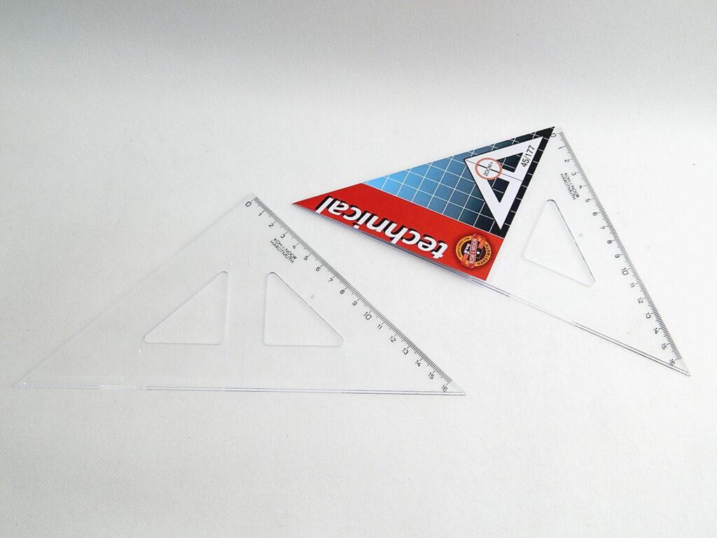 Trojúhelník 744156 45/177 čirý