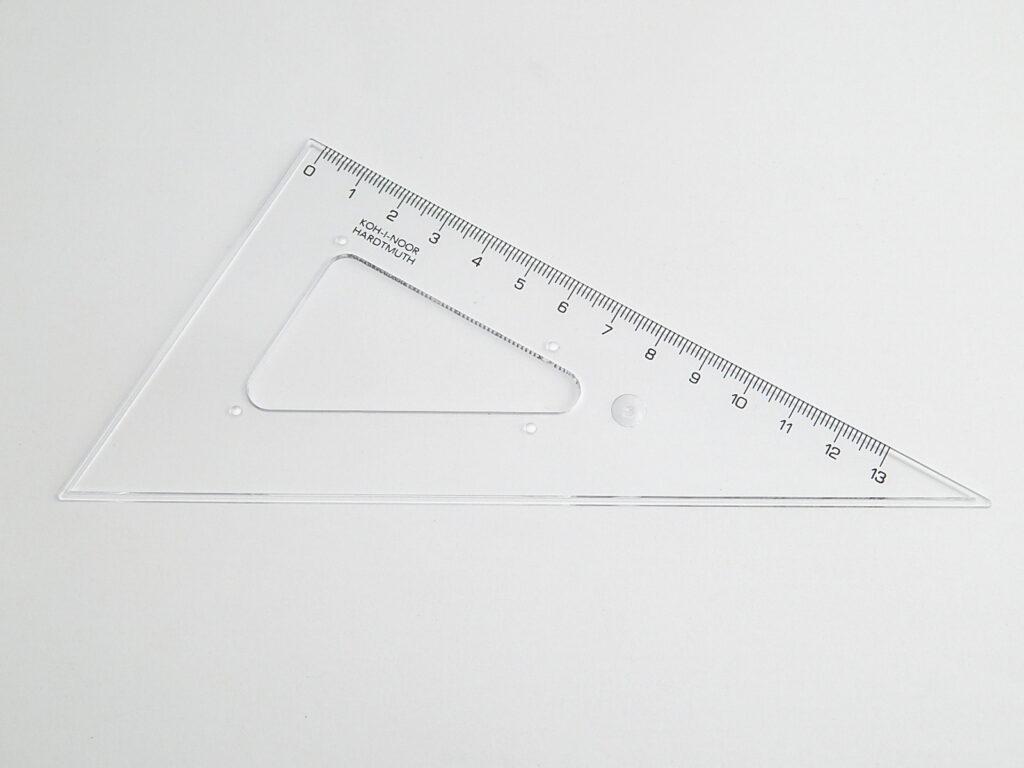 Trojúhelník 744650 60/160 čirý