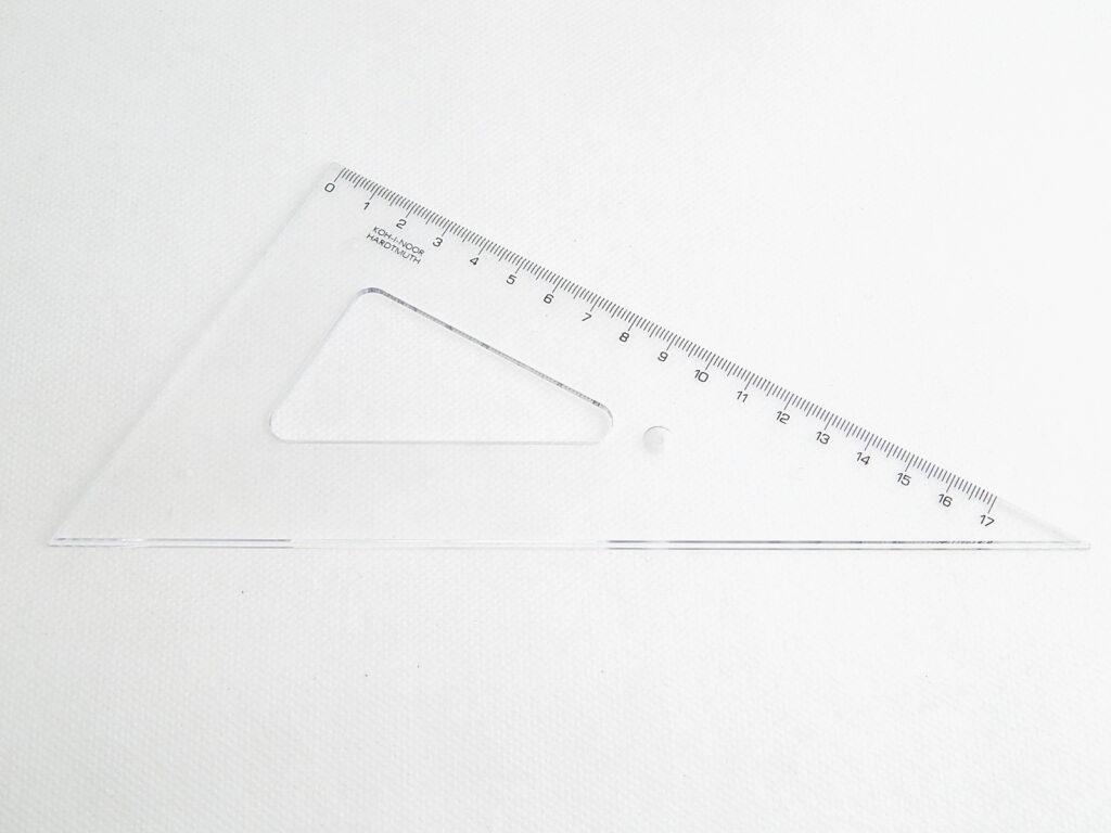 Trojúhelník 744700 60/200 čirý