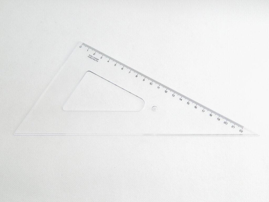 Trojúhelník 744750 60/250 čirý