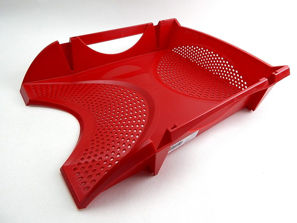 Zásuvka plast.754145 červená