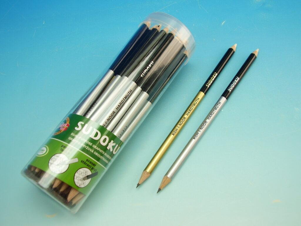 tužka grafitová s gumou  1350 SUDOKU