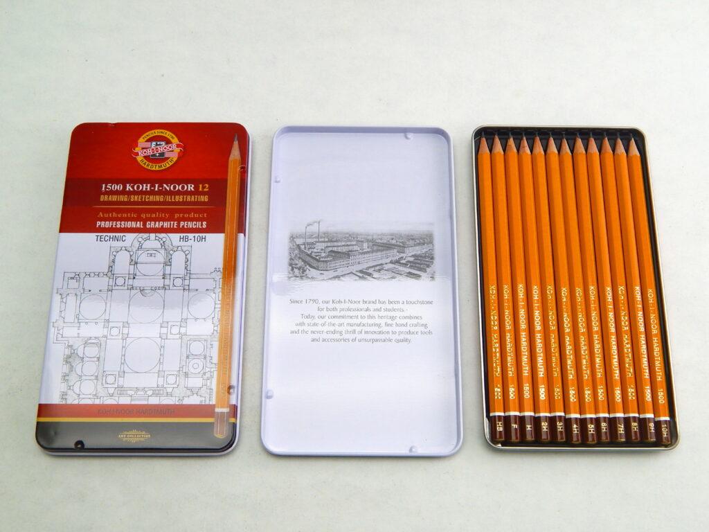 Tužky 1502/I/12   technické-sada